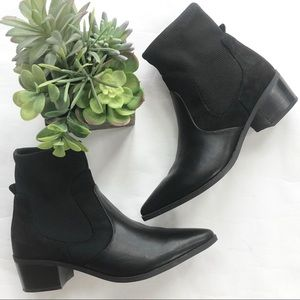 Crown Vintage Ankle sock booties boots western